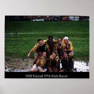 1999 CVPA Girls Soccer Poster