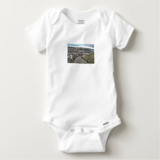 199 Steps Whitby Baby Onesie