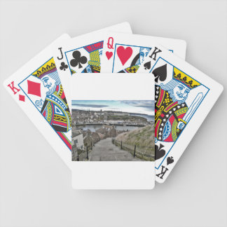 199 Steps Whitby Bicycle Playing Cards