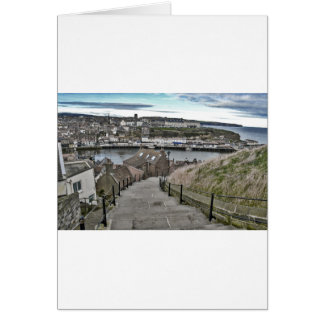 199 Steps Whitby Card