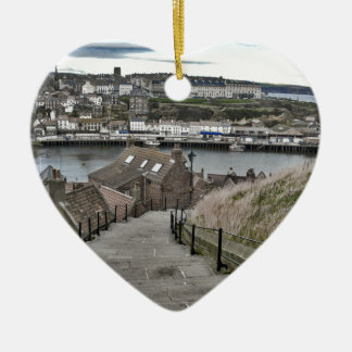 199 Steps Whitby Ceramic Ornament