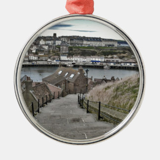 199 Steps Whitby Metal Ornament