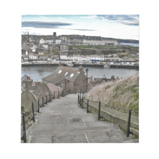 199 Steps Whitby Notepad