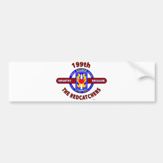"199TH INFANTRY BRIGADE "" THE REDCATCHERS""VIETNAM BUMPER STICKER"