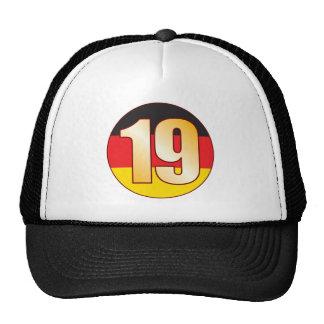 19 GERMANY Gold Trucker Hat