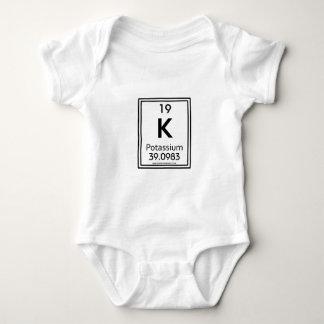 19 Potassium Baby Bodysuit