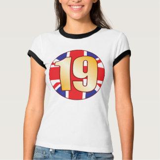 19 UK Gold T-Shirt