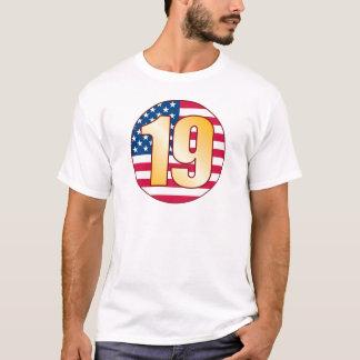 19 USA Gold T-Shirt