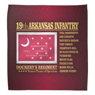 19th Arkansas Infantry (BA2) Bandana