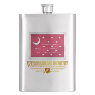 19th Arkansas Infantry (F10) Hip Flask