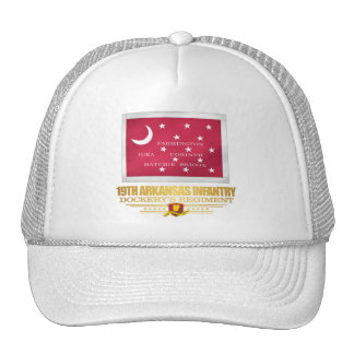 19th Arkansas Infantry (F10) Trucker Hat
