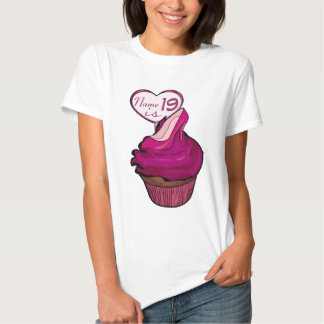 19th Birthday Cupcake T-shirts
