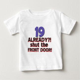 19th birthday designs baby T-Shirt