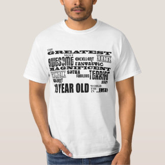 19th Birthday Party Greatest Nineteen Year Old Tshirt