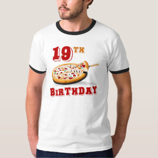 19th Birthday Pizza Party T-Shirt