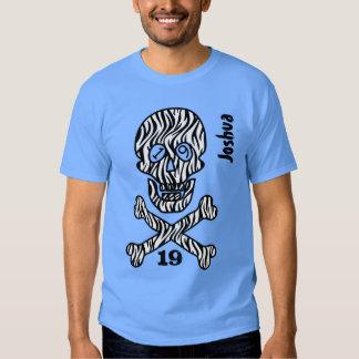 19th Birthday Skull and Crossbones 19 Years V02PA Tee Shirts