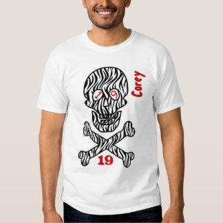 19th Birthday Skull and Crossbones  19 Years V10A T Shirt