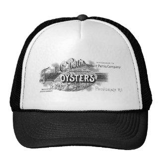 19th C. Oysters, black Trucker Hat