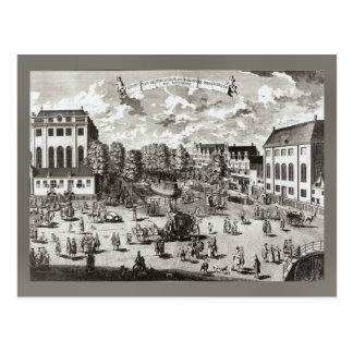 19th century Amsterdam, Portuguese Synagogue Postcard