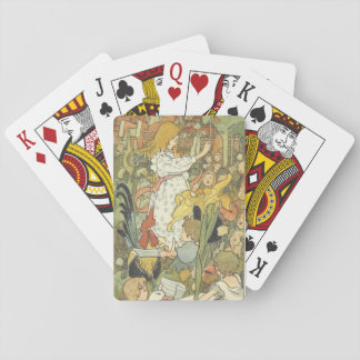 19th century  children illustration playing cards