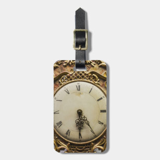 19th century clock face, Germany Bag Tag