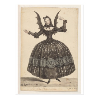 19th-Century French Ballet Costume Postcard