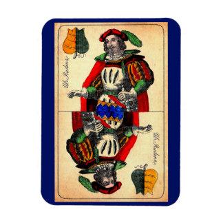 19th century tarot card no. 1 magnet