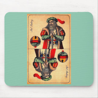 19th century tarot card no. 2 mouse pad