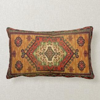 19th Century Vintage Carpet Design 213 Lumbar Pillow