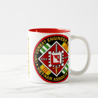 19th Combat Engr. Battalion, Vietnam Assn. Two-Tone Coffee Mug