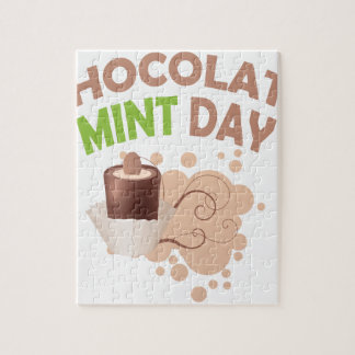 19th February - Chocolate Mint Day Jigsaw Puzzle