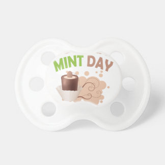 19th February - Chocolate Mint Day Pacifier