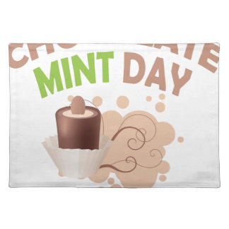 19th February - Chocolate Mint Day Placemat