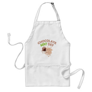 19th February - Chocolate Mint Day Standard Apron