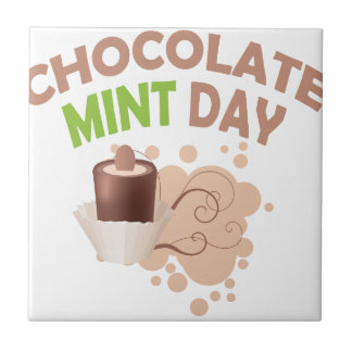 19th February - Chocolate Mint Day Tile
