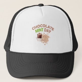 19th February - Chocolate Mint Day Trucker Hat