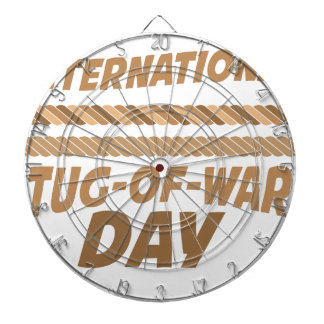 19th February - International Tug-of-War Day Dartboard