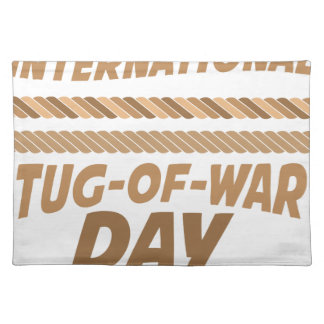 19th February - International Tug-of-War Day Placemat