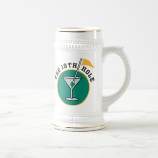 19th Hole Beer Stein