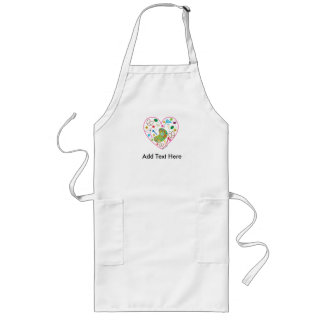 19th Hole Heart Apron