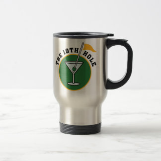 19th Hole travel mug