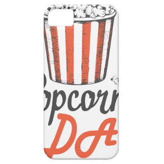 19th January - Popcorn Day - Appreciation Day iPhone 5 Case