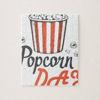 19th January - Popcorn Day - Appreciation Day Jigsaw Puzzle