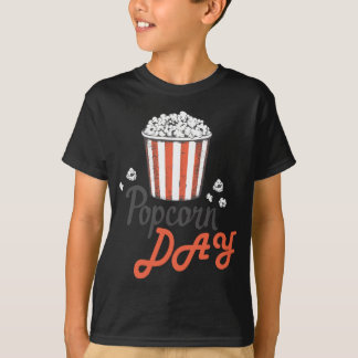 19th January - Popcorn Day - Appreciation Day T-Shirt