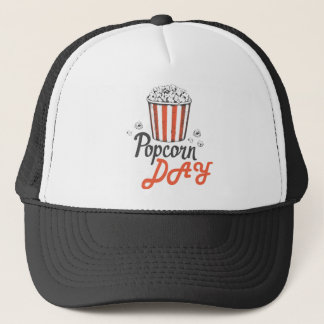 19th January - Popcorn Day - Appreciation Day Trucker Hat