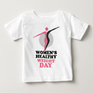 19th January - Women's Healthy Weight Day Baby T-Shirt