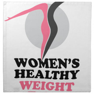 19th January - Women's Healthy Weight Day Cloth Napkin