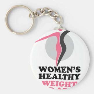 19th January - Women's Healthy Weight Day Keychain