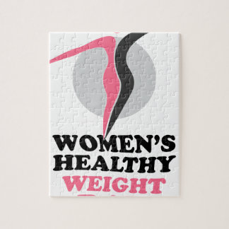 19th January - Women's Healthy Weight Day Puzzles