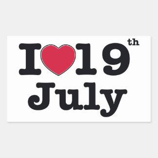 19th july my day birthday